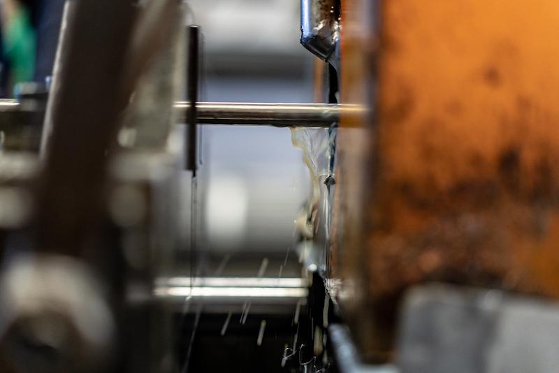 lavorazione lamiere: raffreddamento ad acqua