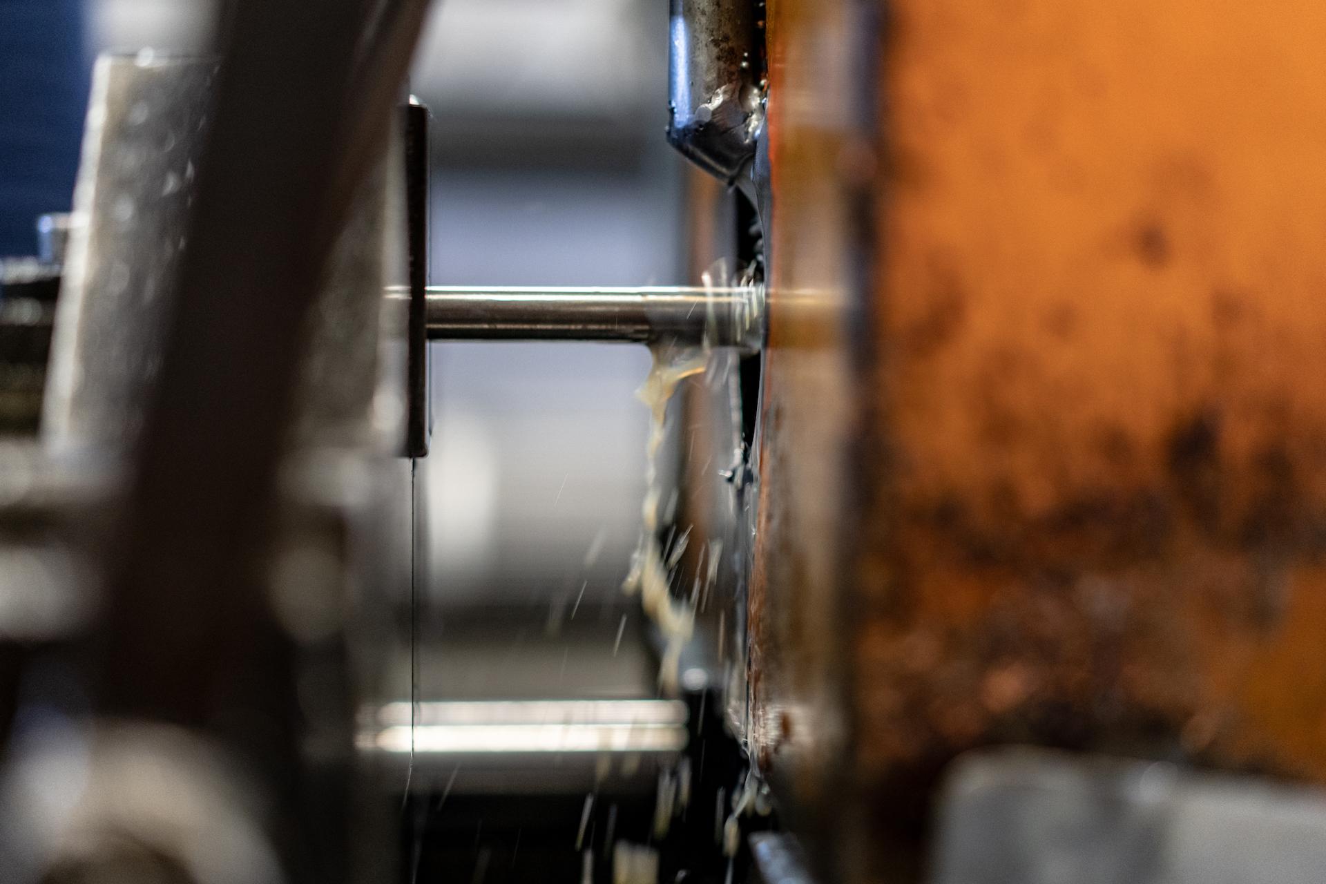 foratura lamiera con raffreddamento ad acqua