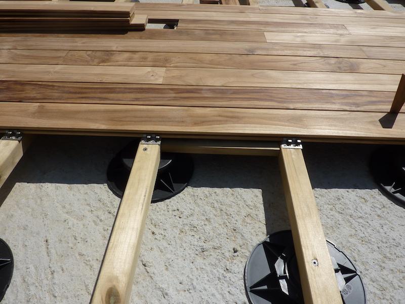 Sistema di fissaggio deck con clip