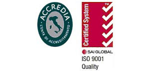 logo certificazione di qualità iso 9001